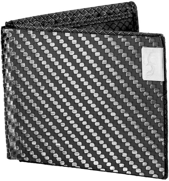 Common Fibers Men's Max Real Carbon Fiber Wallet