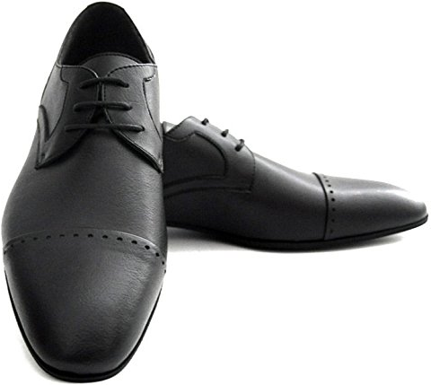 NOAH Black Vegan Derby Shoes