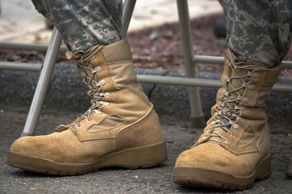Military Vegan Work Boots