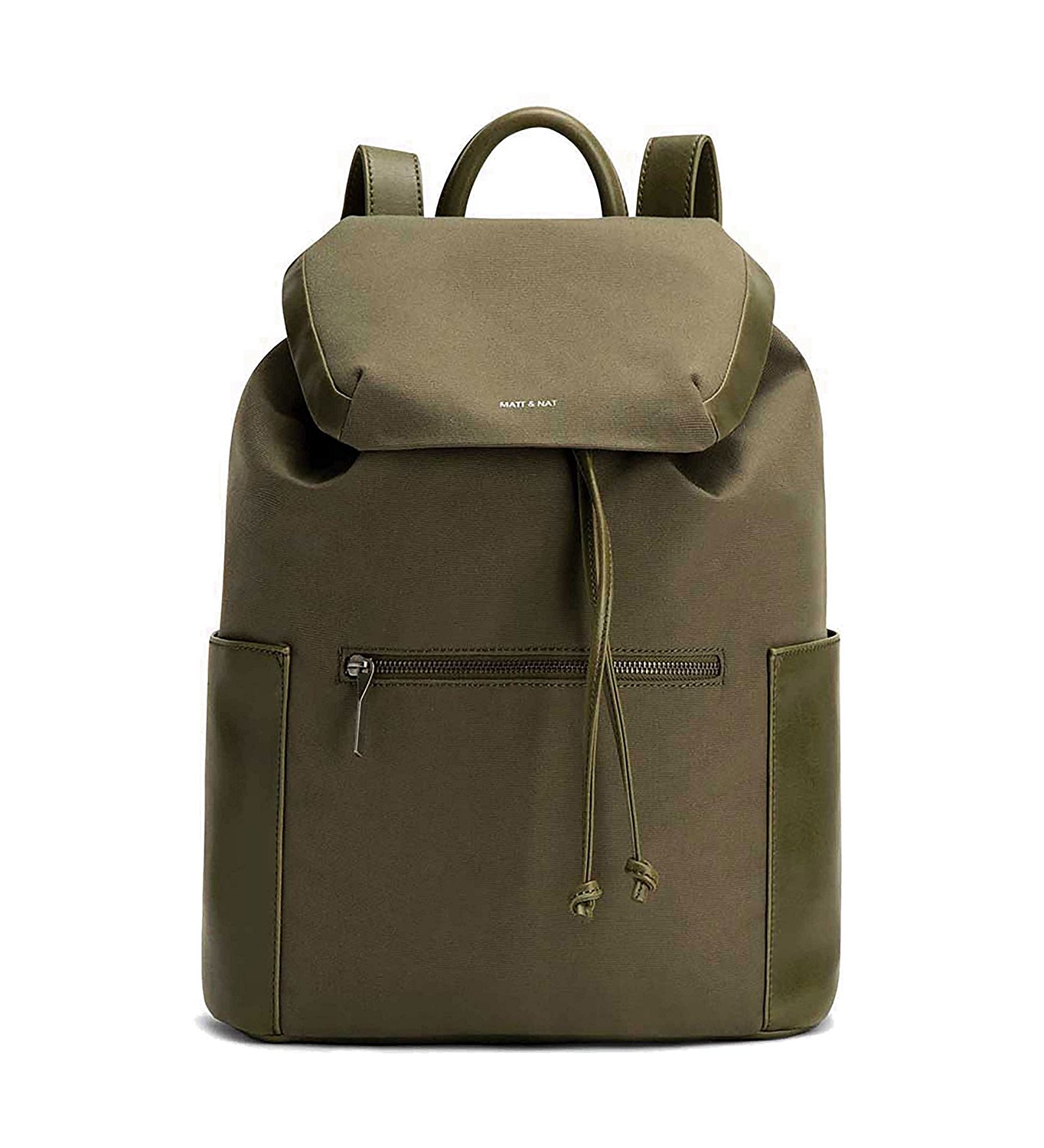 Matt & Nat Greco Canvas Backpack in Olive