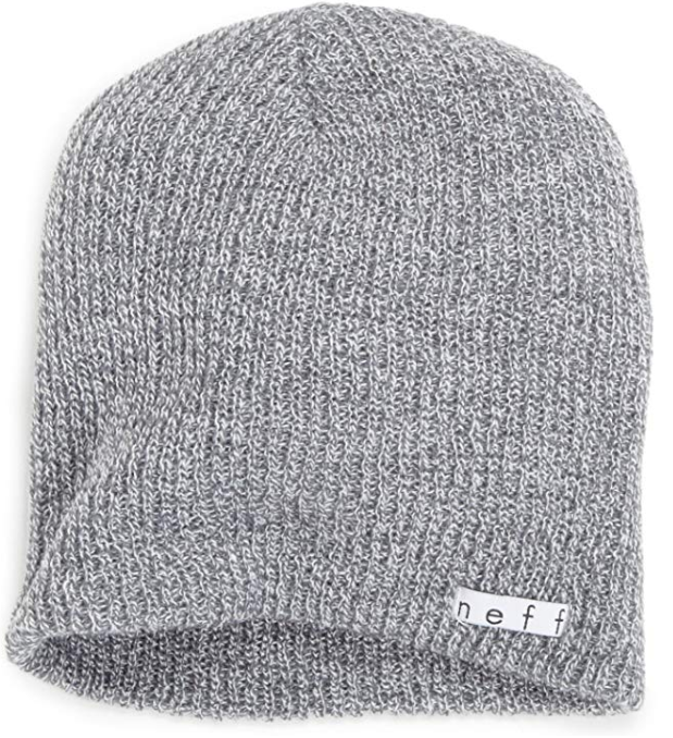 NEFF Daily Gray Beanie Hat for Men and Women for Fall