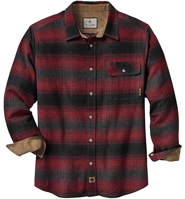 Legendary Whitetails Men's Buck Camp Cabin Fever Vegan Flannel Shirt