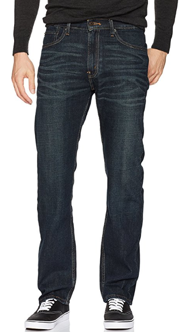 Signature by Levi Strauss & Co. Gold Label Men's Regular Fit Vegan Jeans for Fall