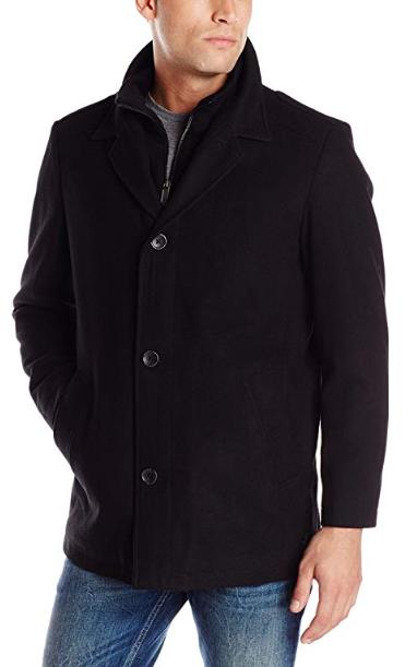 Nautica Vegan Men's Walker Coat with Bib for Autumn/Fall