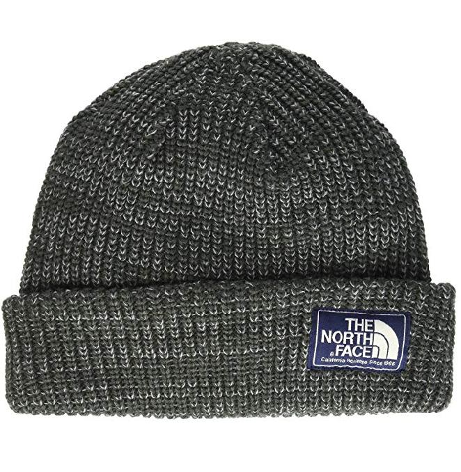 North Face Vegan Gray Skull Cap Beanie Hat for Fall