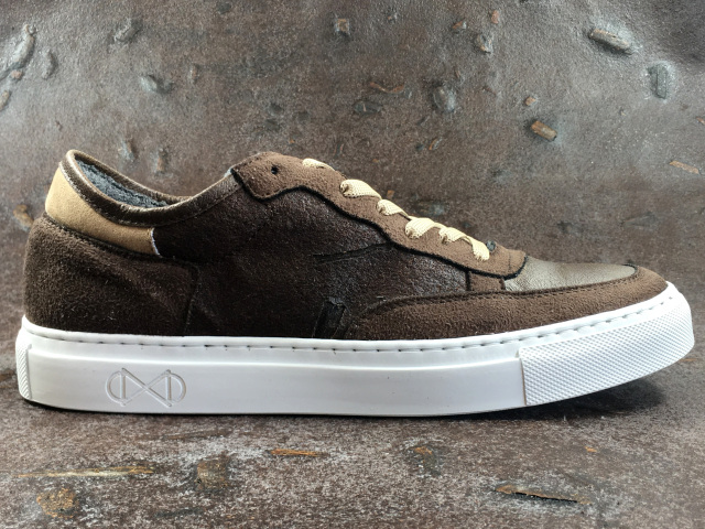 nat-2 Coffee Line Vegan Sneakers