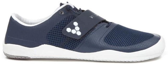 Vivobarefoot's Motus 2 White and Indigo Shoes