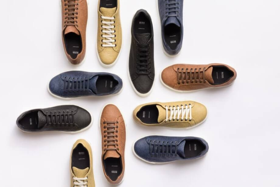 Vegan Hugo Boss Shoes Made from Pineapple Leather Called Pinatex