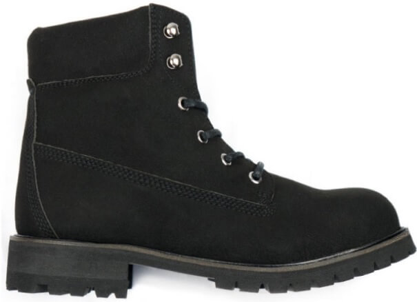Will's Vegan Shoes Steel Toe Waterproof Dock Boots