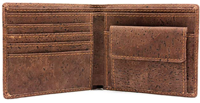 Boshiho's Cork Vegan Wallet for Men
