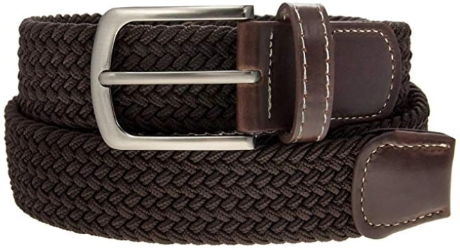 DG Hill's Faux Leather Belt for Vegan Men