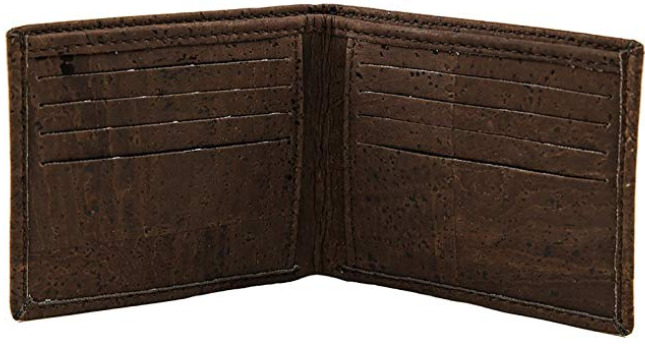 Cork Bifold Vegan Wallet for Men