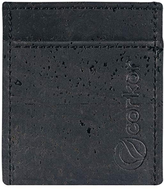 Corkor's Front Pocket Vegan Wallet for Men
