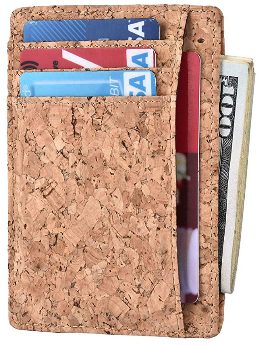 Kinzd' Cork RFID Vegan Wallet for Men