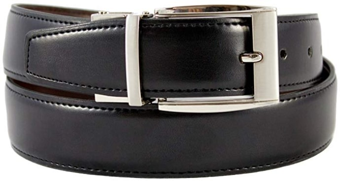 The Vegan Collection Julian Reversible Faux Leather Belt for Vegan Men
