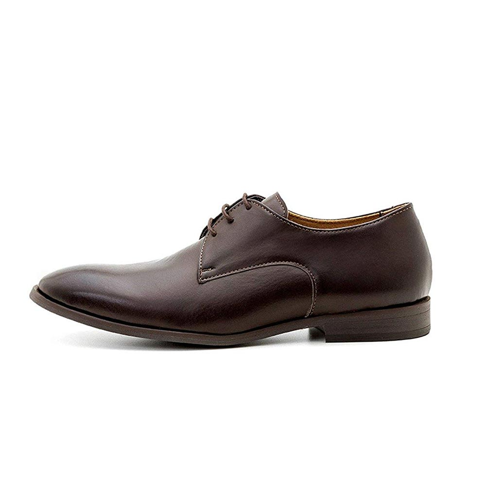Ahimsa Vegan Plain Derby Mens Dress Shoes
