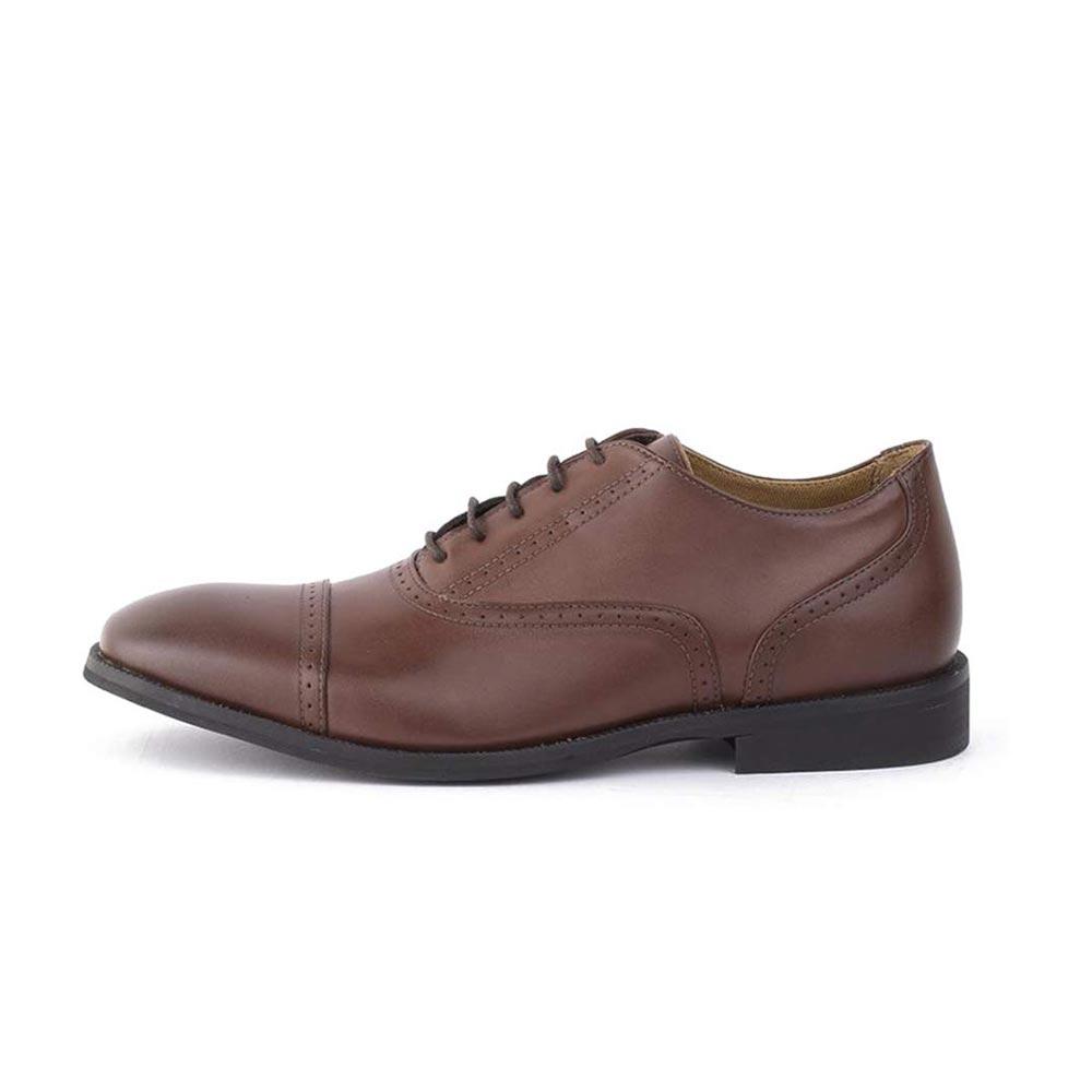 Ahimsa Vegan Arthur Capped Leather Mens Dress Shoes