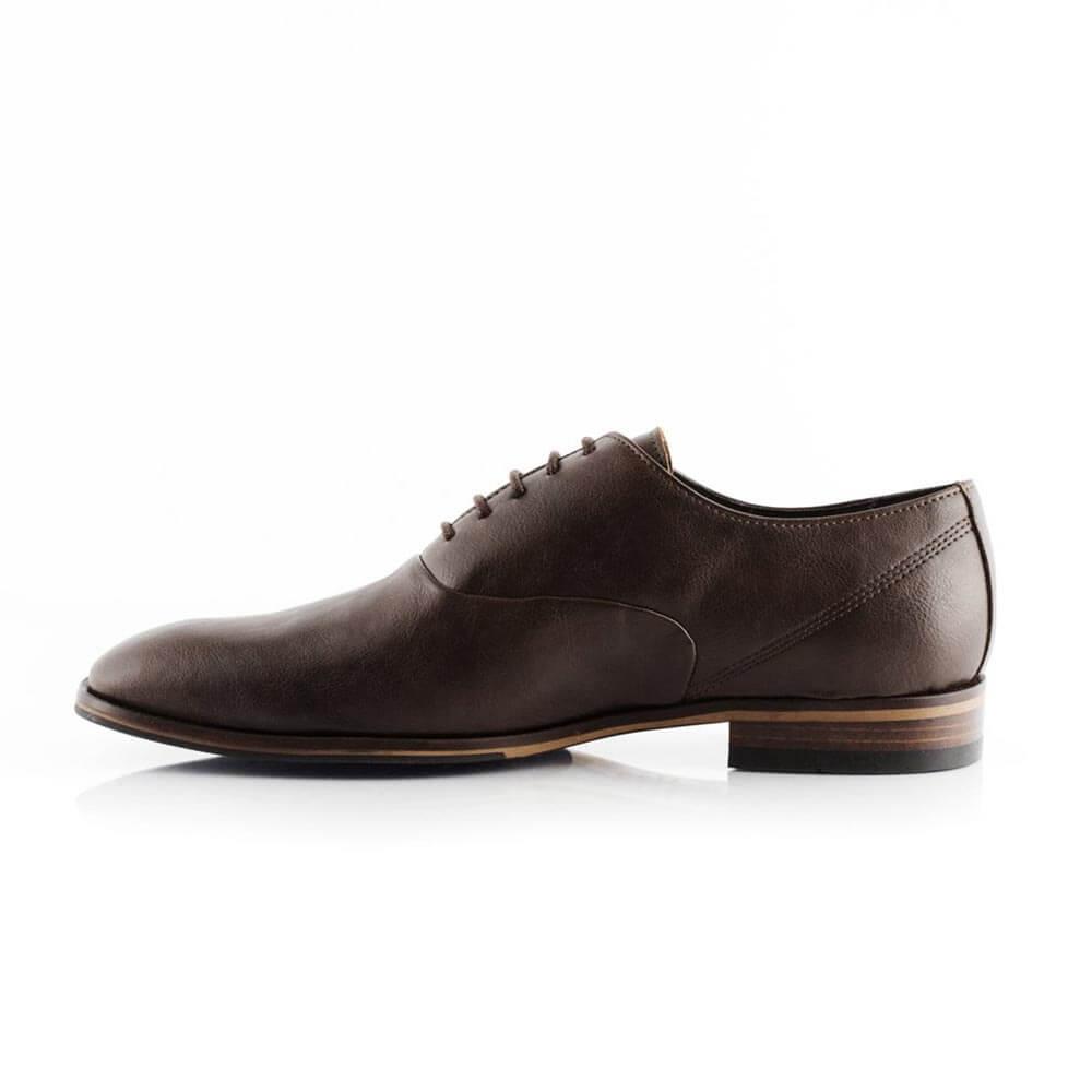 Bourgeois Boheme William Classic Oxford Vegan Dress Shoes for Men