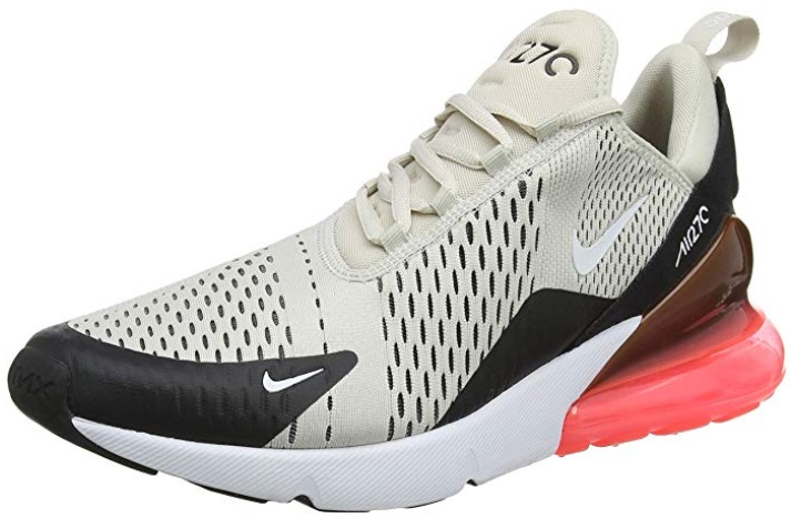 Vegan Nike Men's Air Max 270 White Sneakers