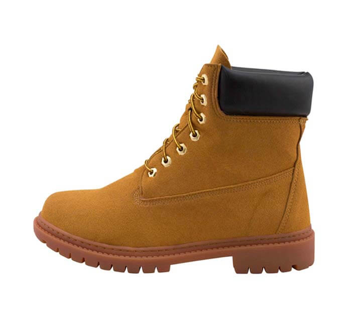 Tastemaker Supply Tan Vegan Timberland Boots
