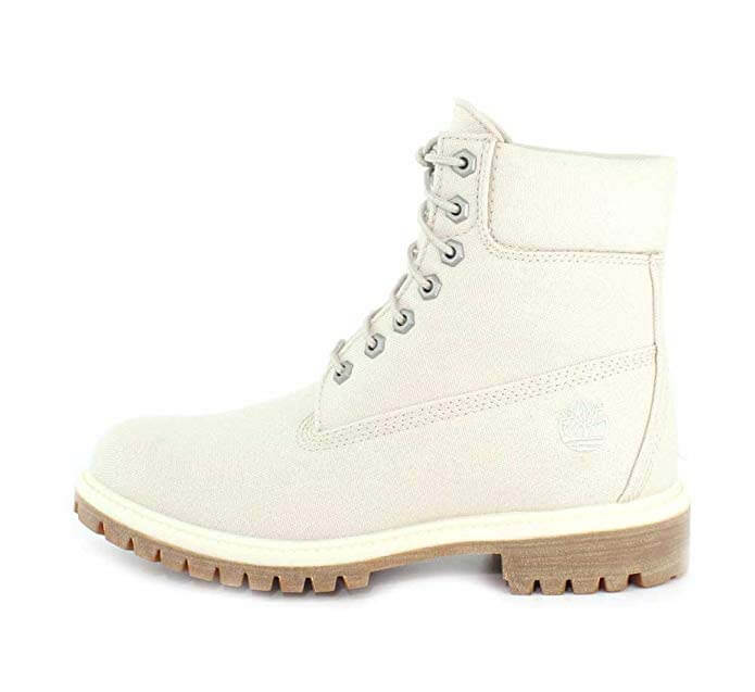 Vegan Timberlands in White