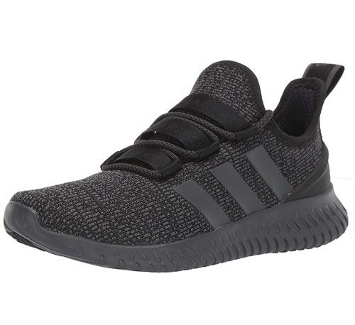 Vegan Adidas Men's Kaptur Gray Running Shoes