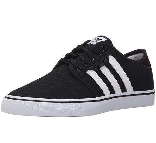Vegan Adidas Seeley Black Sneaker