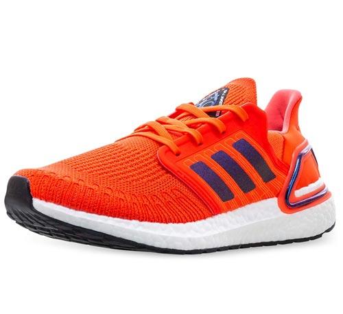 Vegan Adidas Ultraboost 19 Orange Sneakers