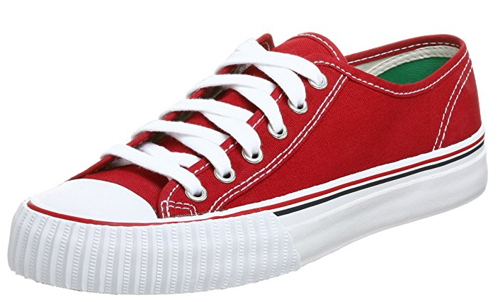 Red PF Flyers Center Lo Canvas Sneakers
