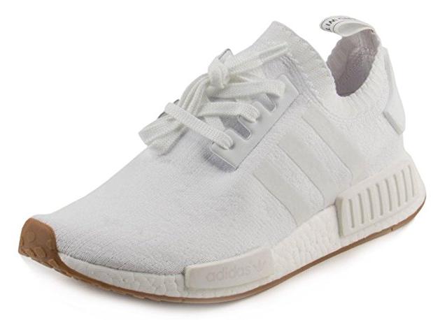 Adidas Primeknit Vegan Running Shoes White Gum