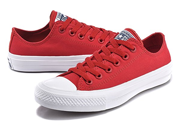 Red Converse Chuck Taylor 2