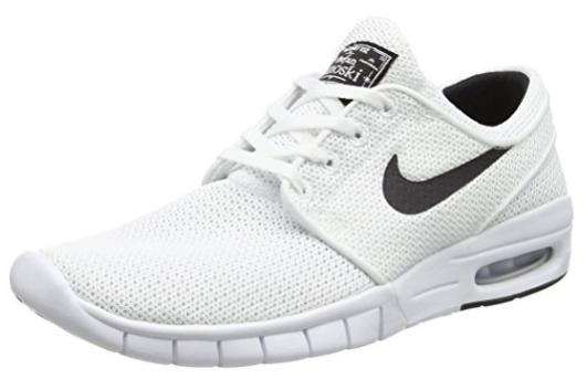 Nike Stefan Janoski Max Vegan White Gray Shoe