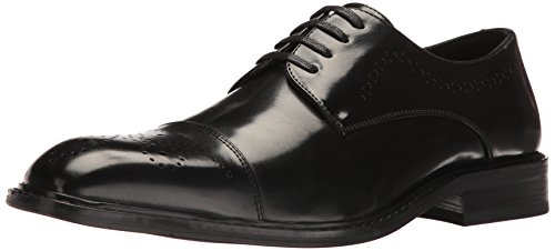 Black Vegan Oxford Dress Shoes